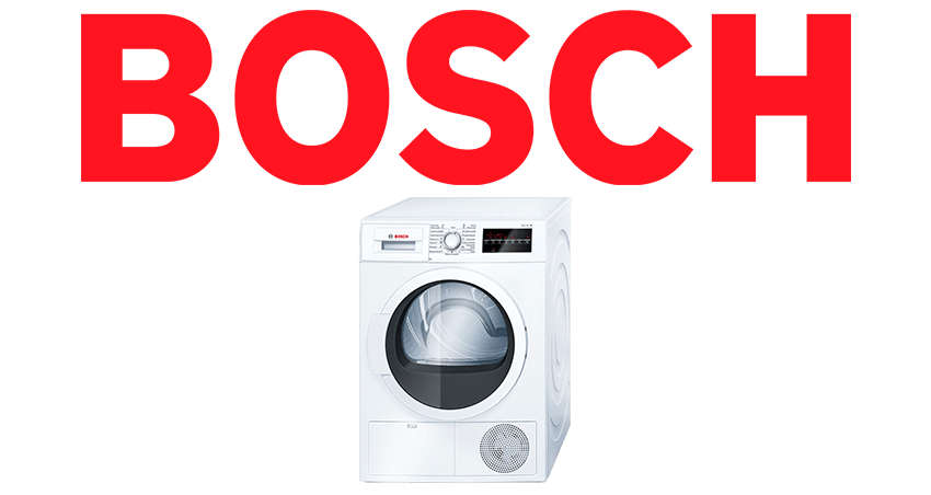 Услуги по ремонту сушильных машин Bosch