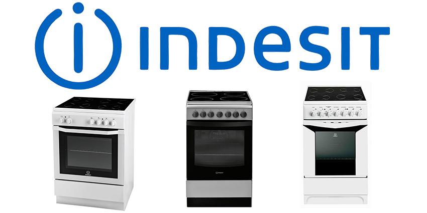 Услуги по ремонту электроплит Indesit