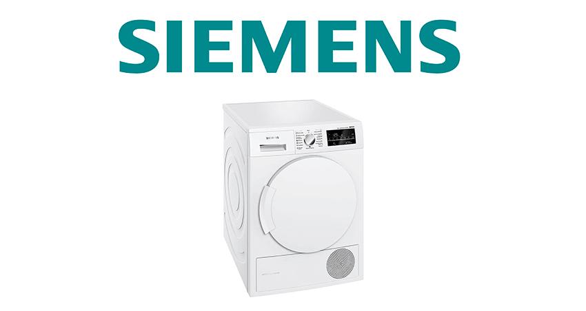 Услуги по ремонту сушильных машин Siemens