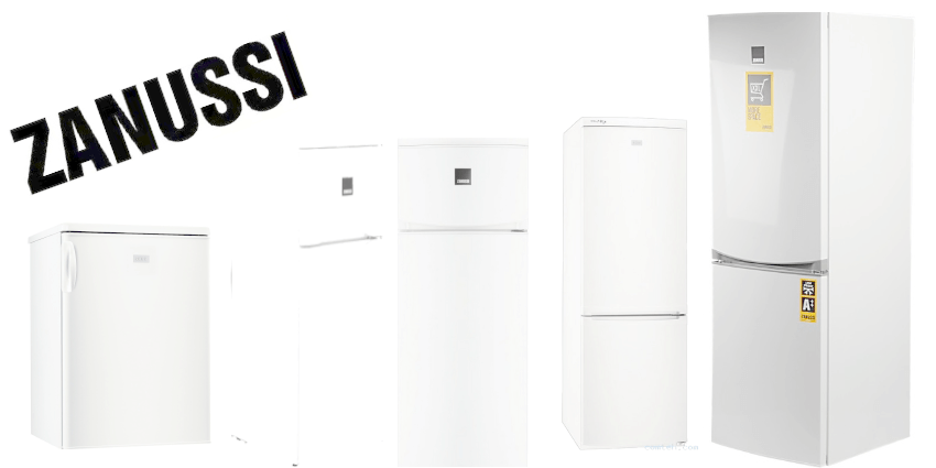 Услуги по ремонту холодильников Zanussi